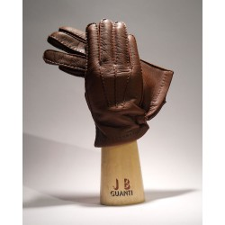 Gloves made of deerskin with cashmere lining