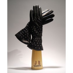 Gloves with nails
